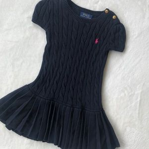 Polo Ralph Lauren cable kit sweater dress
